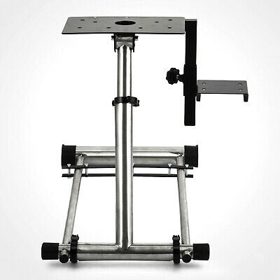 Adjustable Steering Wheel Stand, Game Stand Simulator Racing Wheel Shifter NEW • 0.01£