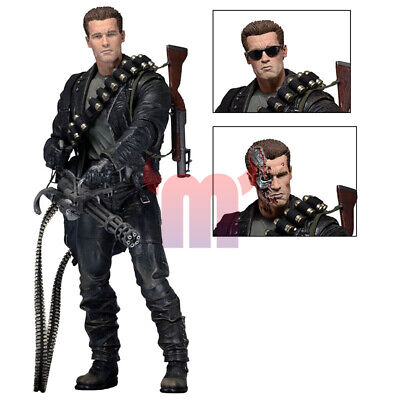 £26.65 • Buy 7  NECA Terminator 2 Judgment Day T-800 Ultimate Deluxe Arnold Action Figure New