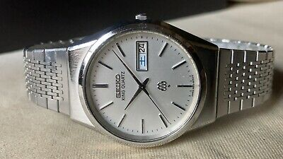 $ CDN1.32 • Buy Vintage SEIKO Quartz Watch/ KING TWIN QUARTZ 9923-8050 SS 1979