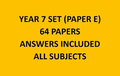 AU25 • Buy Year/Grade 7 Papers