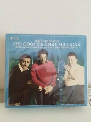The Very Best Of The Goons And Spike Milligan - (CD) New (2004) • 25£