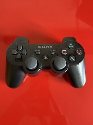 Official Sony PS3 DualShock 3 SIXAXIS Wireless Controller - Working - Refurb • 17£
