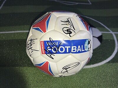 Rare 90s Signed Portsmouth Fc Football  • 20£