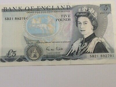 Old English 5 Pound Note - Duke Of Wellington • 10£