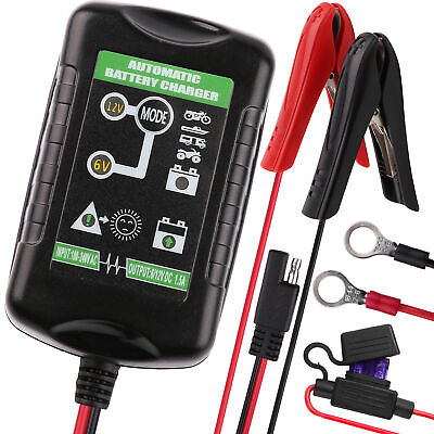 AU28.49 • Buy Battery Charger Tender Maintainer Trickle 6V 12V 1.5A Car Automatic Motorcycle