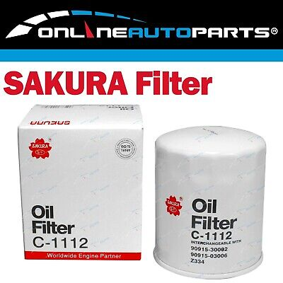 AU14.95 • Buy Sakura Engine Oil Filter Suits Landcruiser HDJ79R 4.2L 6cyl 1HD-FTE 2001~2007