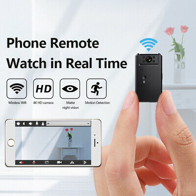 View Details Mini IP Wireless Wifi Security Small Camera HD 4K DVR Night Vision Hidden Camera • 38.55£