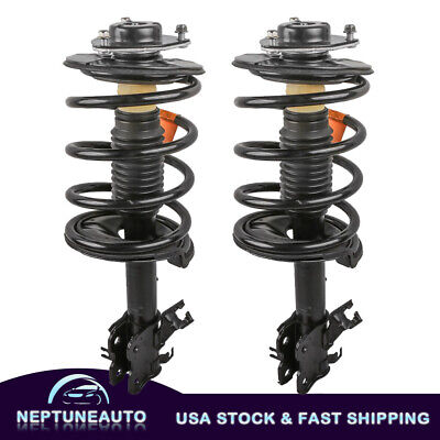 $122.79 • Buy For Nissan Maxima 2004-08 Pair Front Full Shocks & Struts W/Coil Springs Mount
