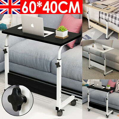 £11.99 • Buy Laptop Table Computer Notebook Desk Adjustable Portable Trolley Sofa Bed Tray UK