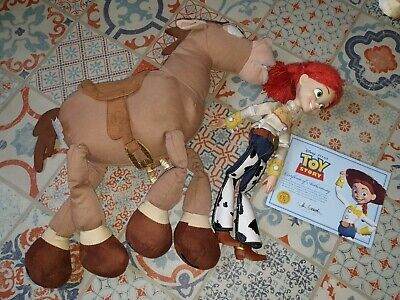 Jessie & Bullseye From Toy Story.  Certificate Of Authentication For Jessie • 3.50£