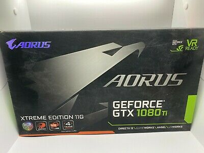 $ CDN718.64 • Buy USED Aorus GeForce Experience GTX 1080Ti 11G Graphics Card VR Windforce W/ BOX