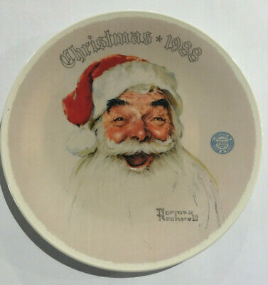 $ CDN13.75 • Buy Norman Rockwell 1988   Santa Claus  Limited Edition Christmas Plate