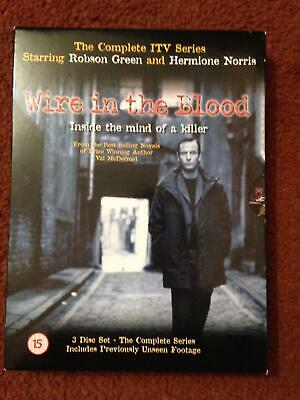 Wire In The Blood  The Complete Series One.(3-Disc DVD Set) • 2.99£