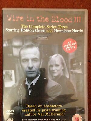 WIRE IN THE BLOOD 3 (DVD) Robson Green .Hermione Norris • 2.50£