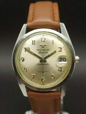 $ CDN41.86 • Buy Vintage Wittnauer Geneve Cal. C11KA (Longines 501) Swiss Men's Automatic Watch