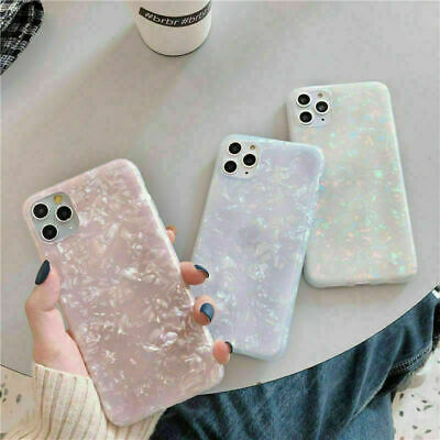 AU8.99 • Buy  Silicone Case IPhone 12 Pro MAX 11 8 7 Plus XR X ShockProof Marble Phone Cover
