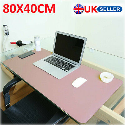 £12.99 • Buy 80X40cm Waterproof Anti-Slip Leather Blotters Pad Protector Desk Mouse Pads Mats