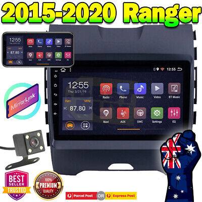 """AU420 • Buy 9"""" Android 9.1 Car Stereo Non Dvd Player GPS Head Unit For Ford Ranger 2015-2019"""