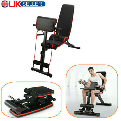 Foldable Weight Bench Fitness Home/Gym Training Utility Exercise Bench Quality • 73.50£