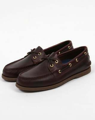 £75 • Buy Sperry Authentic Original Boat Shoes In Amaretto Brown Leather - Deck Shoes