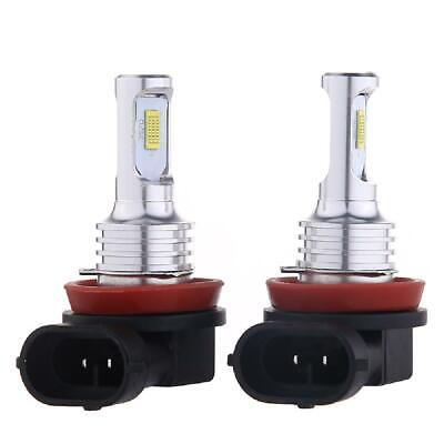 AU23.99 • Buy Upgrade H11 H8 H9 LED Headlight Bulbs Kit High Low Beam 35W 4000LM 6000K White