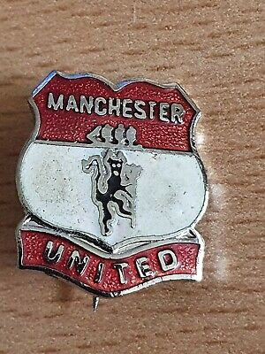 Vintage 1990s Manchester United Badge Coffer Reeves Style Man Utd Pin Badge A136 • 5.95£