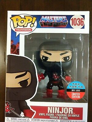 $27 • Buy Ninjor Funko POP! #1036 - NYCC Toy Tokyo Shared Excl - Masters Of The Universe