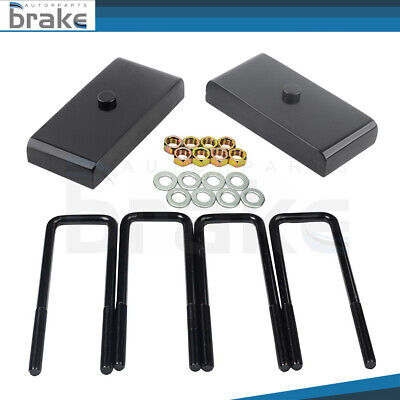 $42.24 • Buy 1  Rear Blocks Leveling Lift Kit Fits Chevy Silverado GMC Sierra 1500 1999-2020
