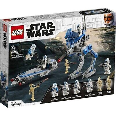 AU71 • Buy LEGO 75280 Star Wars 501st Legion™ Clone Troopers BNIB