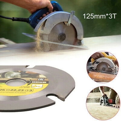 £9.69 • Buy 125mm Circular Saw Blade Grinder Carving Wood Cutting Disc 3T For Angle Grinders