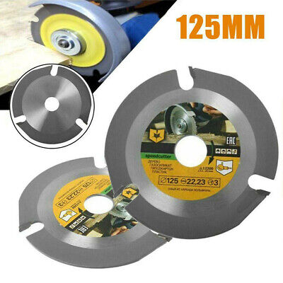 £9.63 • Buy 5  125mm Circular Saw Blade Carbide Woodworking Carving Disc For Angle Grinders