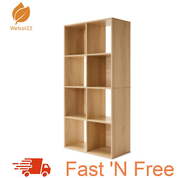AU79.99 • Buy New 8 Cube Unit Wall Fixings Included Storage Hot Deal Free Shipping- Oak Look