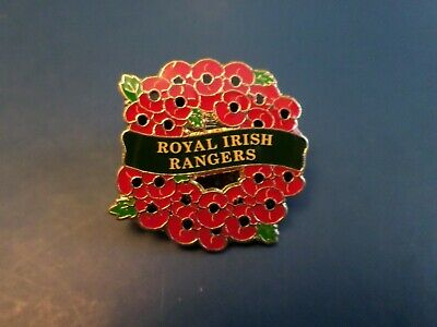 Royal Irish Rangers Remembrance Badge British Army (only 9 Available) • 3.50£