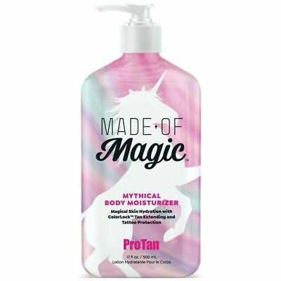 £14.99 • Buy Pro Tan MADE OF MAGIC Mythical Body Moisturizer - Sun Bed Tan Extending  500ml