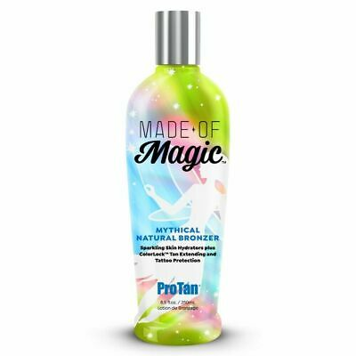 Pro Tan Made Of Magic Natural Sunbed Bronzing Lotion Cream + Tattoo Care + Gift • 10.95£