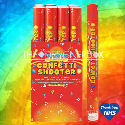 £4.95 • Buy 50cm Biodegradable Confetti Shooter Compressed Air Cannon Party Wedding Popper