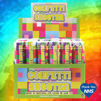£5.95 • Buy 20cm Large Party CONFETTI Cannons Poppers Shooter Wedding New Years Large Giant