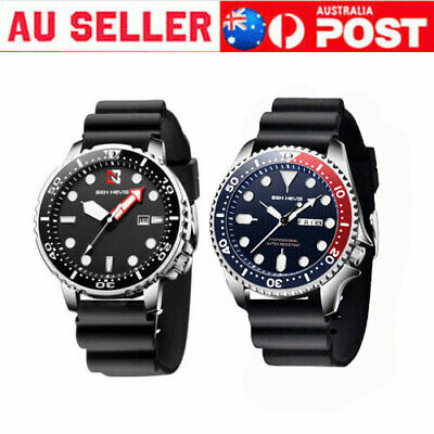 AU19.79 • Buy Men's Watch Stainless Steel Sport Waterproof Analog Quartz Wristwatch