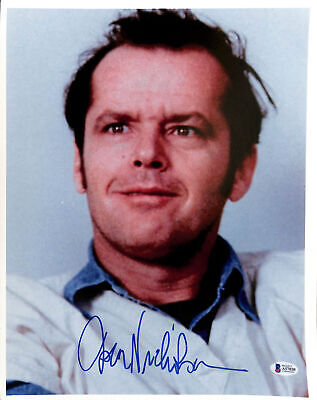 £1448.64 • Buy Jack Nicholson One Flew Over The Cuckoo's Nest Signed 12x15 Photo BAS #A57030