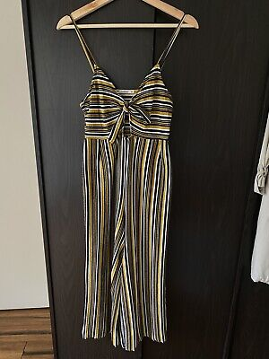 AU15 • Buy Pull And Bear Pinstripe Jumpsuit M