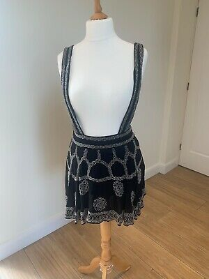 Asos Beaded Skirt With Braces • 15£