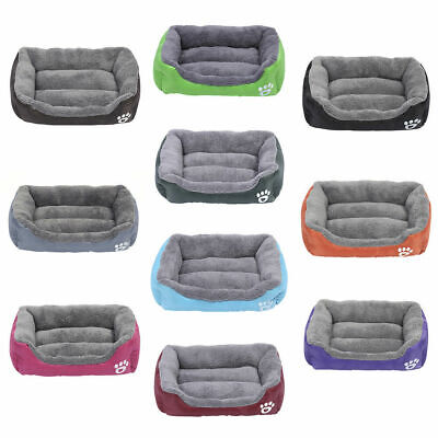 £11.49 • Buy Pet Dog Cat Bed Soft Warm Cushion Puppy Kennel Mat Blanket Washable
