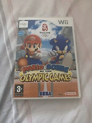 Mario And Sonic At The Olympic Games - Nintendo Wii • 1.30£