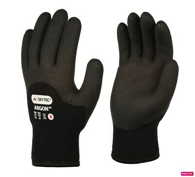 £6.95 • Buy Skytec Argon Thermal Cold Weather Waterproof Hand Protection Working Gloves