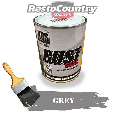 AU89 • Buy KBS RustSeal GREY 1 Litre Rust Seal Paint Rust Preventive Coating