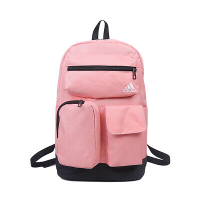 AU44.95 • Buy Adidas Originals Canvas Backpack Travel School Bag - Black/ Grey/ Pink/ Blue