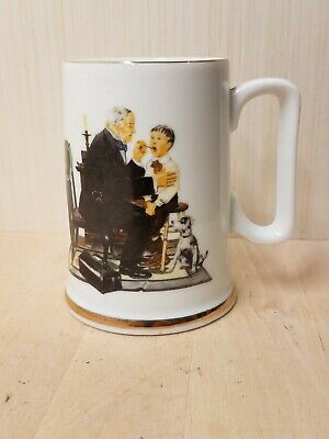 $ CDN13.37 • Buy Norman Rockwell Mug The Country Doctor 1986 The Museum