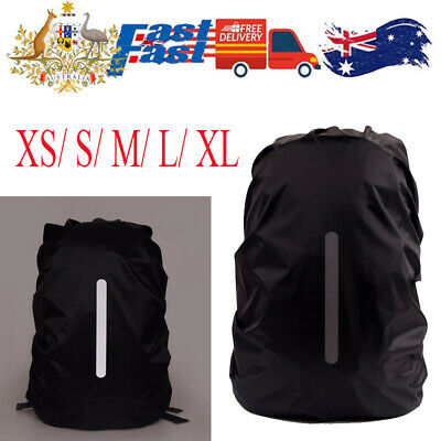 AU12.99 • Buy Foldable Backpack WaterProof Rain Cover Rucksack Camping Bag Cover XS/S/M/L/XL
