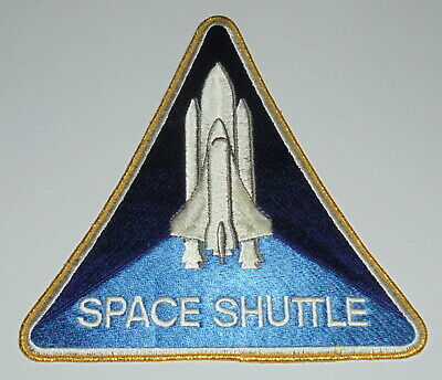 Large Space Shuttle Emblem 21cm Embroidered Patch • 14.99£