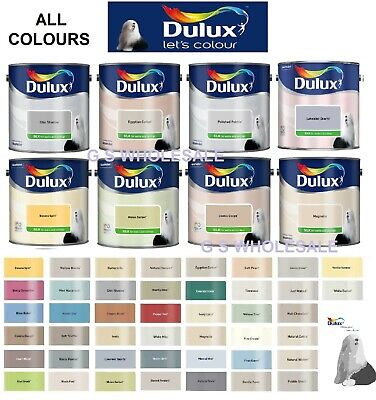 Dulux Smooth Creamy Silk Paint ALL COLOURS 2.5 Litres - Walls & Ceiling 2.5L • 24.47£